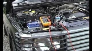 P38 Range Rover Battery Drain Test - Becm Sleep Test(, 2009-02-07T22:02:19.000Z)