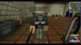 Minecraft Let's Play ep7: The Mining cart episode