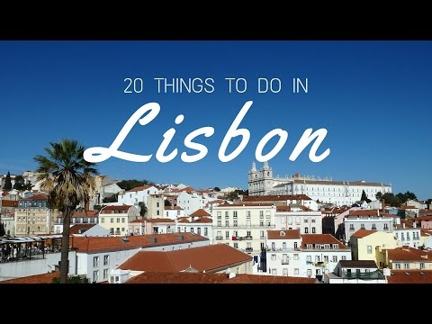 20 things to do in Lisbon Travel Guide
