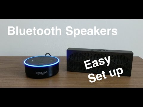 how to pair bluetooth speakers to echo dot 2nd gen. Black Bedroom Furniture Sets. Home Design Ideas