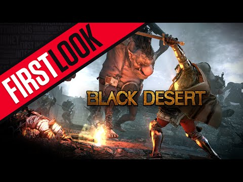 Black Desert Online (First Look / Gameplay) - English patched