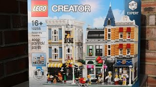 LEGO Creator Expert Assembly Square: UNBOXING Stadtleben 10255