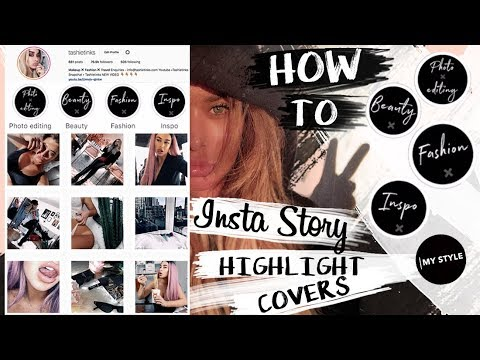 How To Instagram Story Highlight Covers Super Easy Youtube