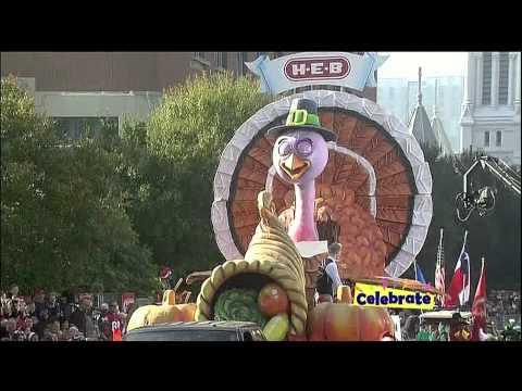 2012 63rd Annual H-E-B Holiday Parade - Houston TX