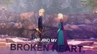 Jack x Elsa - Me and my broken heart.