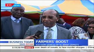 Nyandarua farmers benefit from grants under climate smart agriculture project