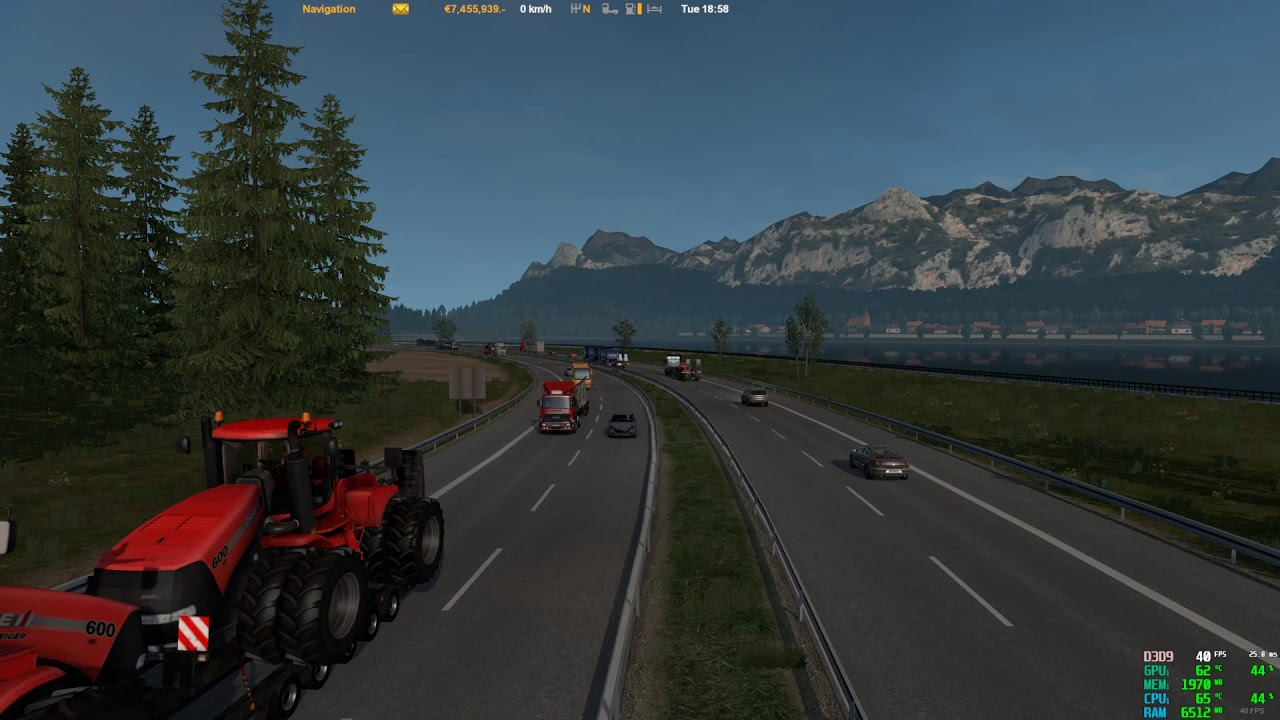 ETS2 1 33 My traffic mods and sounds