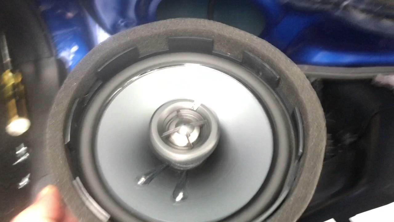 2017 Wrx Kicker Speaker Upgrade