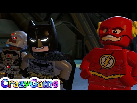 LEGO Batman 3 Episode 4 - Wonder Woman, Flash, Superman, Batman vs Joker and Lex Luthor