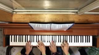 レ・フレールのOne Heart Four Voicesを連弾しました。 続きの「Smile」...