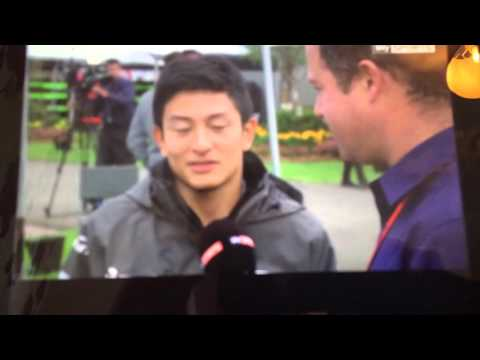 Rio Haryanto speaks about his AUSGP qualifying