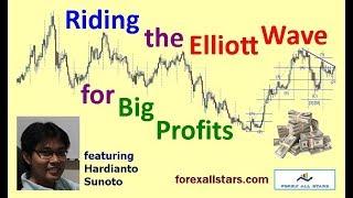 riding the Elliott Wave for Big Profits - with Hardianto Sunoto / tutorial explained fibonacci forex