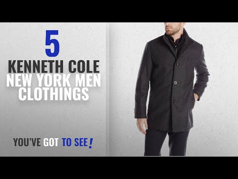 Top 10 Kenneth Cole New York Men Clothings [ Winter 2018 ]: Kenneth Cole New York Men's Wool-Blend