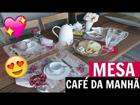 CAFÉ DA MANHÃ - PREPARANDO A MESA