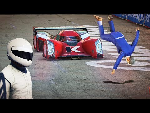 "Hitman 2 - Miami Secret Exit Easter Egg ""STIG"" Sierra & Robert Knox on Race Track |"