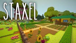 Staxel #11 | Traumhafter Gemüsegarten | Gameplay German Deutsch thumbnail