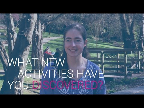 What new activities have you discovered? | University of Southampton