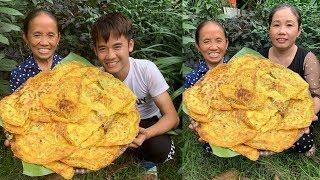 Bà Tân Vlog - Làm Đĩa Bánh Xèo Siêu To Khổng Lồ