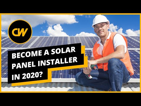 Solar Panel Installer Career in 2020 – Solar Panel Installer
