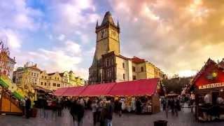 Prague - Timelapse movie, 2015