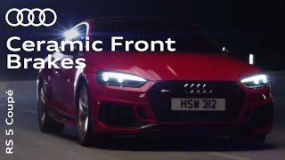 The new Audi RS 5 Coupé: RS Ceramic Front Brakes