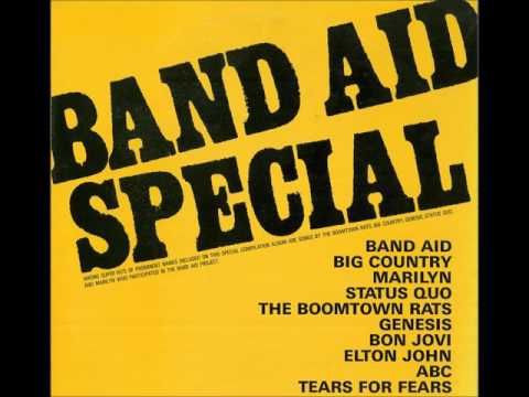 BAND AID SPECIAL/VINYL/FULL ALBUM/JAPAN