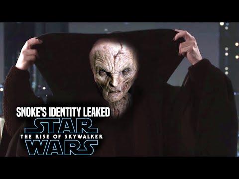 Star Wars The Rise Of Skywalker Snoke's Identity Revealed (Leaked Details) Star Wars Episode 9