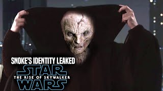 Star Wars The Rise Of Skywalker Snoke's Identity Revealed (Leaked Details) Star Wars Episode 9