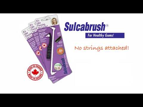 Sulcabrush :: Get a handle on healthy gums