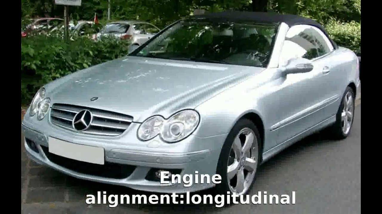 2005 Mercedes Benz Clk 350 C 209 Details Features