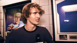 Moet Moment: Zverev Wins The Nitto ATP Finals 2018