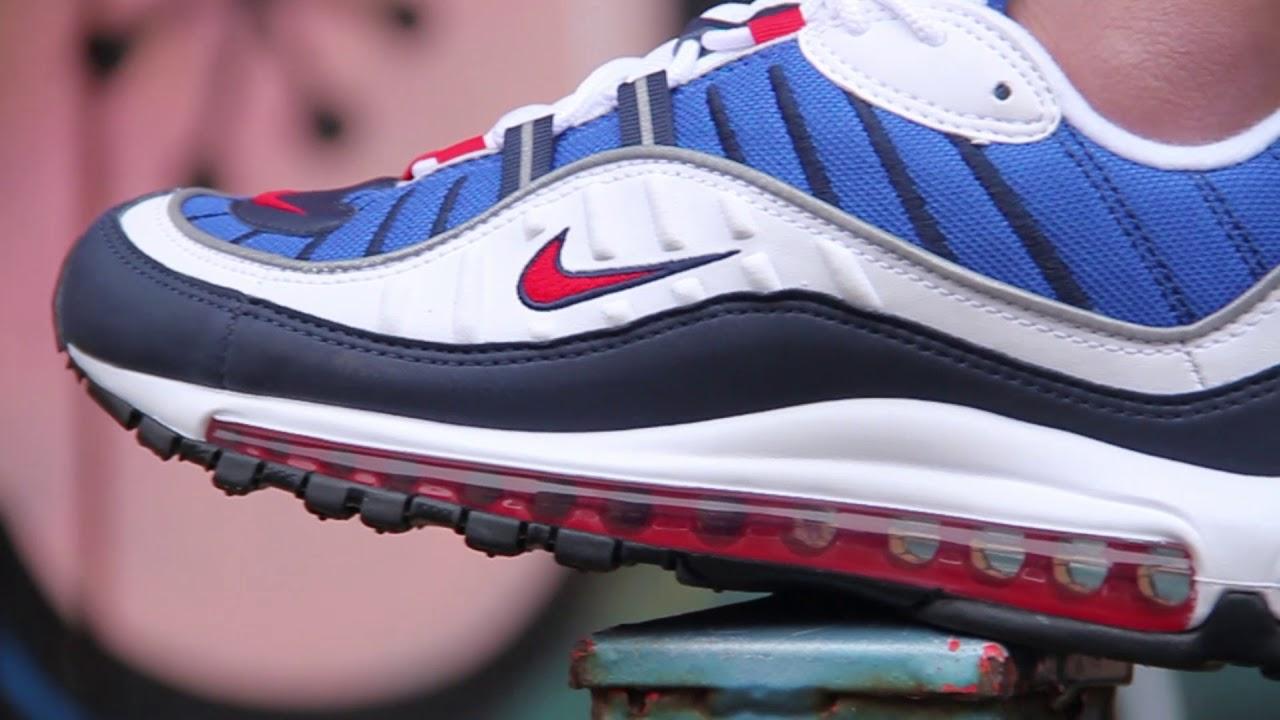 4626eb4b05e Nike Air Max 98 Sneakers - Gundam - YouTube