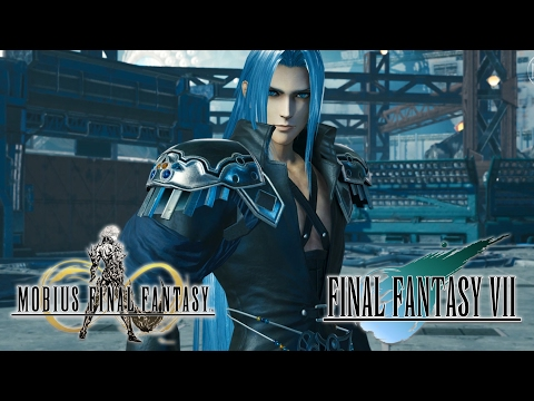 Cloud vs Sephiroth Encounter Event Part 1 - Mobius Final Fantasy (JP)