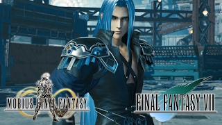 Cloud vs Sephiroth Encounter Event Part 1 - Mobius Final Fantasy (JP)