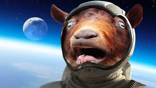 Repeat youtube video FUNNY GOAT SIMULATOR EASTER EGGS! (Goat Simulator)