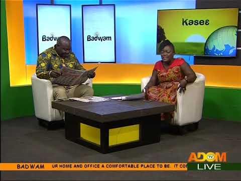 Badwam Newspaper Review on Adom TV (7-9-17)