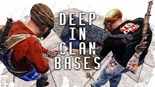 Going DEEP From the Top of CLAN BASES (LADDER RAIDING) | Rust BP Survival w/ Turbobeef