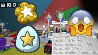 Free Gifted Diamond Egg And Completed All Star Journey Quest   Bee Swarm S Mulator