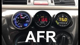 Wideband Air to Fuel ratio gauge  - Why you NEED it!