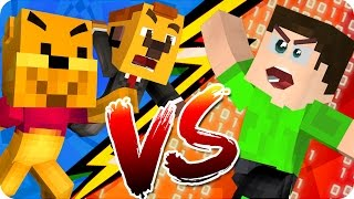DOS YOUTUBERS vs UN HACKER | MINECRAFT - Exo y Luh