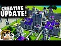 NEW CREATIVE MODE UPDATE!   Kingdoms and Castles Creative Update Gameplay