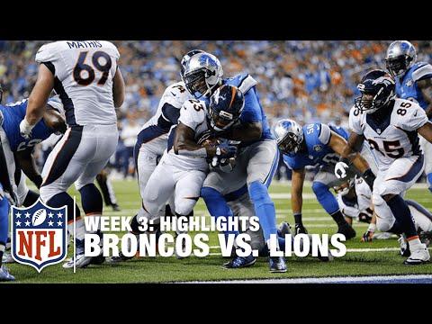 Broncos vs. Lions | Week 3 Highlights | NFL