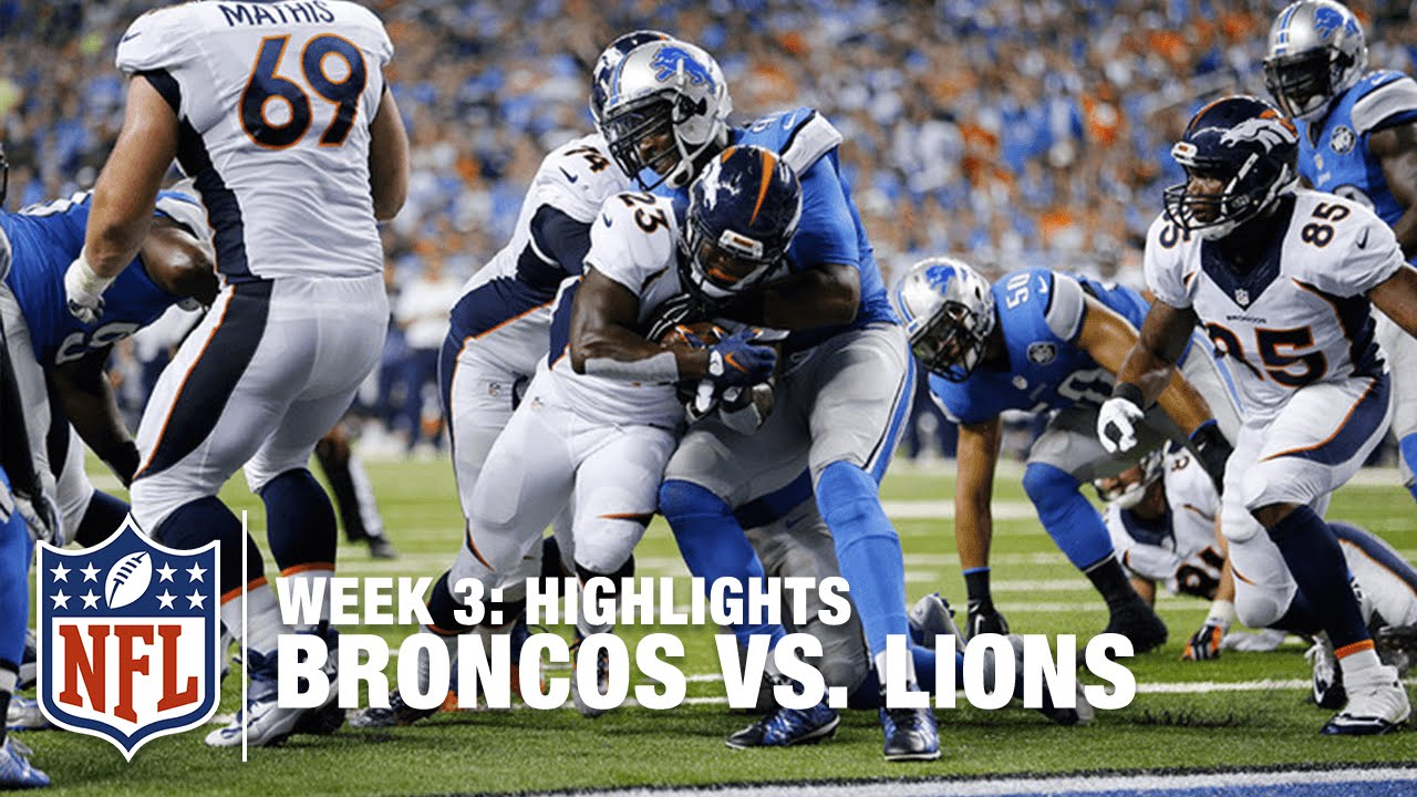 5 things to watch: Lions at Broncos