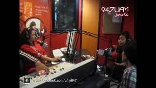 94.7 UFM Jakarta - Moza Pramita in INDIE MOMS With Sasha Poespo (Art N Lulla - Malika)