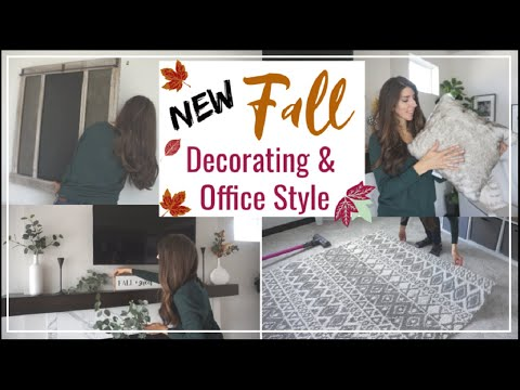Fall Decorate With Me + Office Makeover | Momma From Scratch