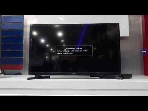 Cara menghubungkan smart tv samsung ke internet