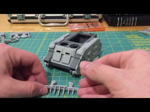 How-to: Fitting Forge World resin parts to Games Workshop plastic kits