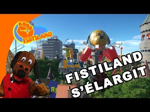 Planet Coaster - FISTILAND S'ÉLARGIT !