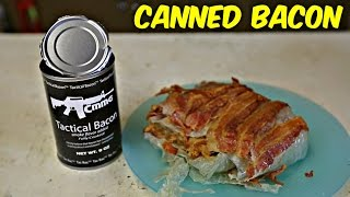 Tactical Bacon Taste Test