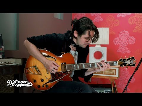 Zane Carney Plays Jazz Lines on the Excel SS | D'Angelico Guitars